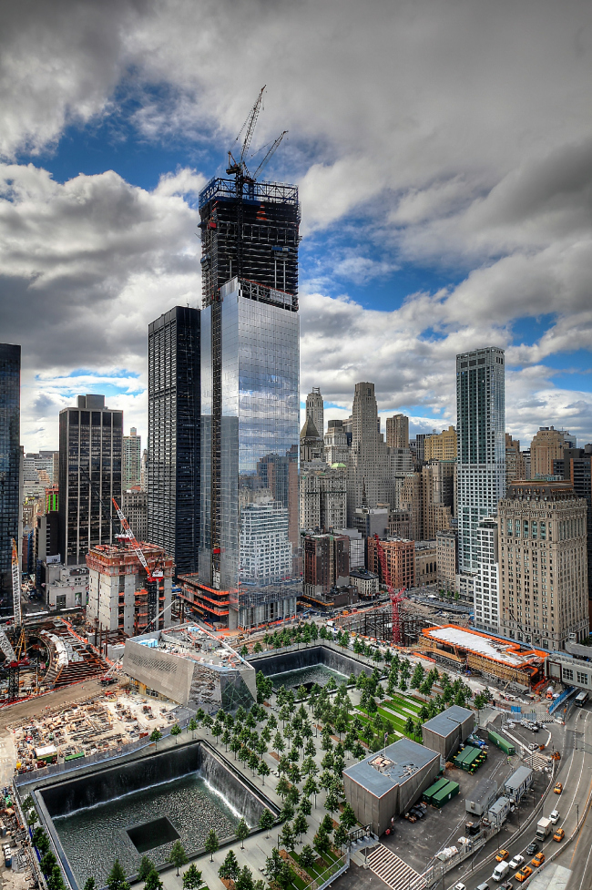 Национальный мемориал 11 сентября © The Port Authority of New York and New Jersey