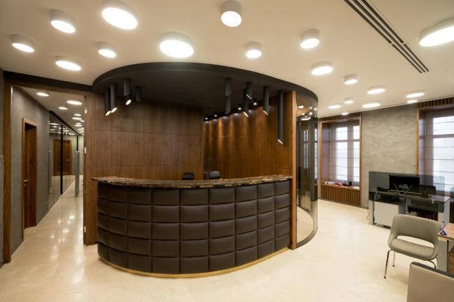 Интерьер банка на Полянке. Фотография Ильи Иванова