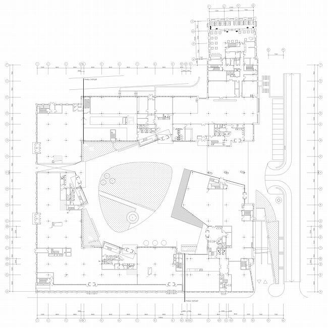 Корпус №8. План 1 этажа