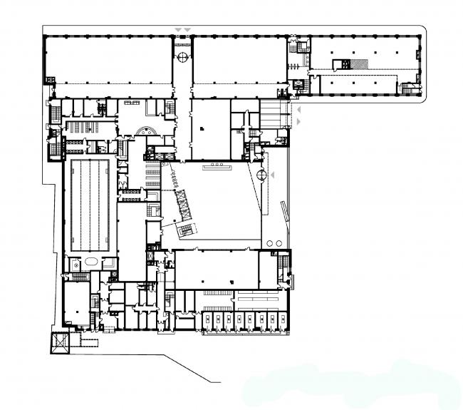 Бизнес-центр «Демидов». Деловой квартал «Красная Роза». Корпус №1. План 1 этажа
