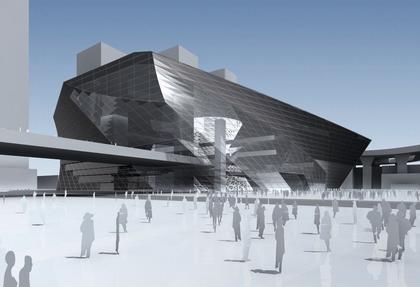 Выставочный комплекс MOCAPE © Coop Himmelb(l)au