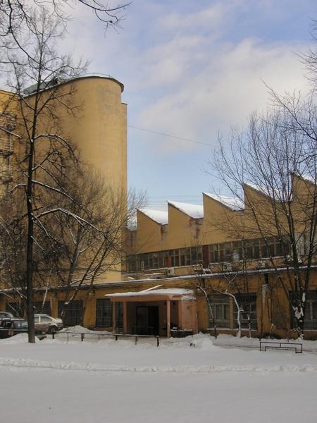 Общежитие студентов Текстильного института («Коммуна»)