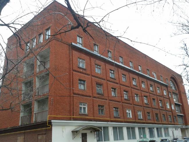 Общежитие Текстильного института («Красное»). Фотография: Илья Малков