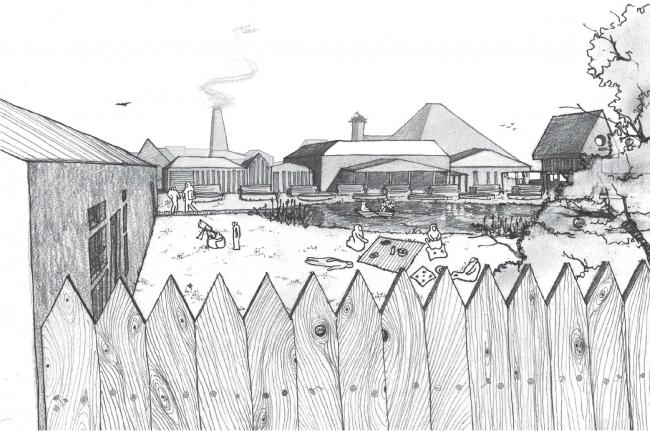Бюро Megabudka – победитель конкурса «Русский характер». Дача во дворе. Иллюстрация предоставлена организаторами конкурса.