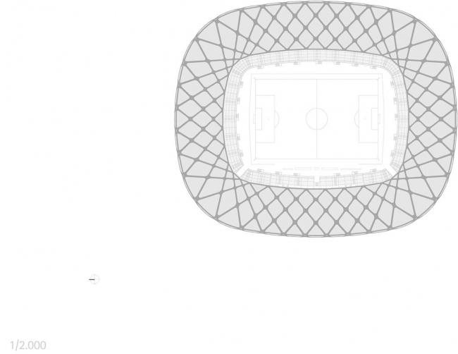 Стадион «Амазония» © gmp architekten