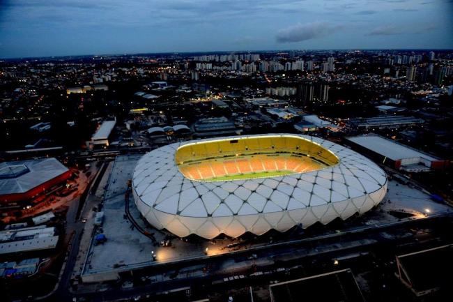 Стадион «Амазония» © Copa2014.gov.br