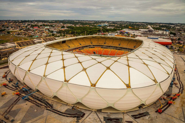 Стадион «Амазония» © Alex Pazuelo, Copa2014.gov.br