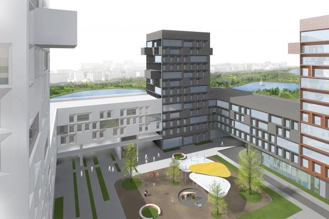 Международный финансовый центр в Рублево-Архангельском  © ТПО «Резерв» + Maxwan