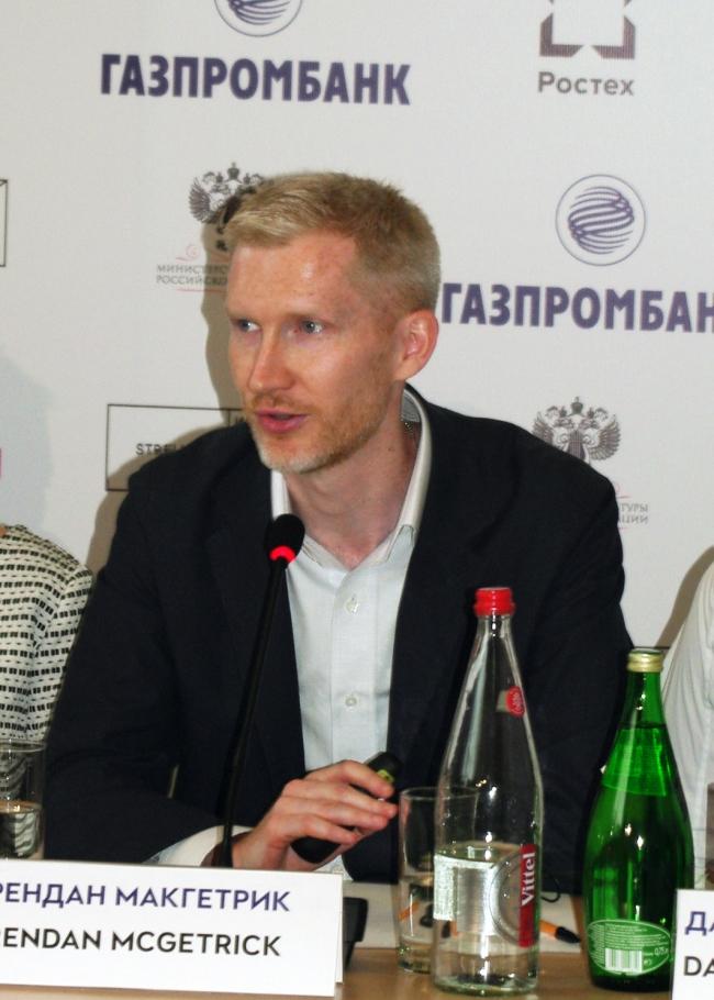 Брендан Макгетрик. Фотография Аллы Павликовой