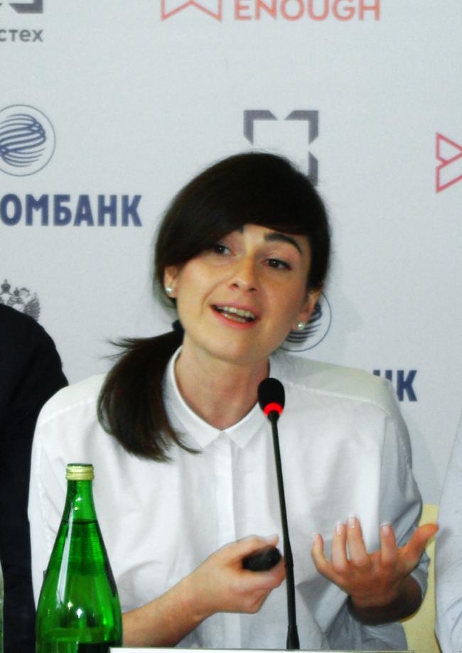 Дарья Парамонова. Фотография Аллы Павликовой