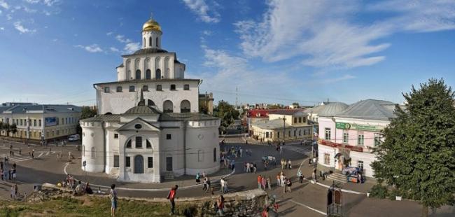 Владимир, день города, Золотые ворота. Фотография: http://nesiditsa.ru