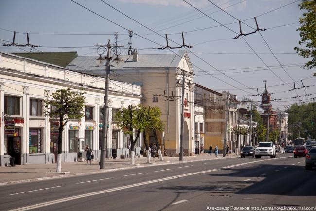 Большая Московская улица. Фотография: romanovz.livejournal.com