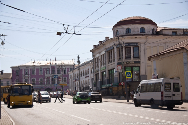 Большая Московская улица. Фото: romanovz.livejournal.com