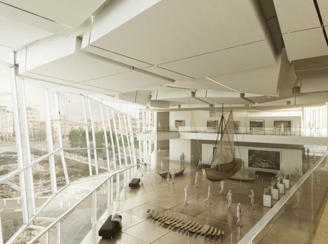 Комплекс Йеникапы. Изображение предоставлено Eisenman Architects и Aytaç Architects