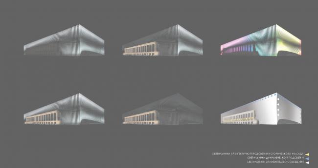 Проект реконструкции бассейна «Лужники» © ПИ «Арена» + Lanik