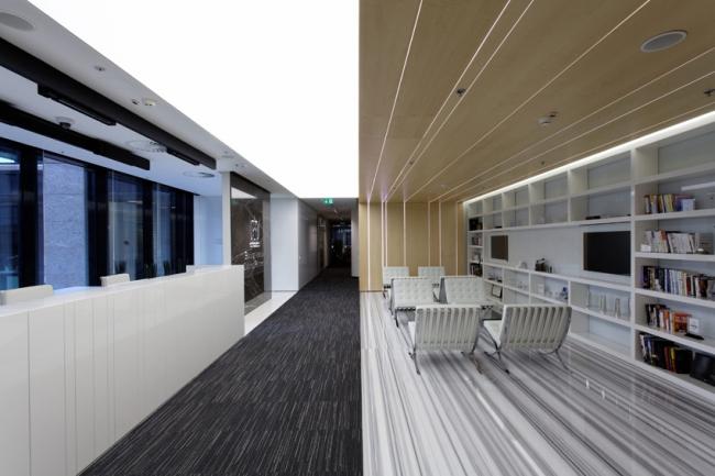 Гран-при Best Office Awards 2014 и приз в номинации «Бренд и имидж» получила Архитектурная мастерская Павла Поликарпова за офис компании Baring Vostok Capital Partners. Фотография предоставлена организатором.