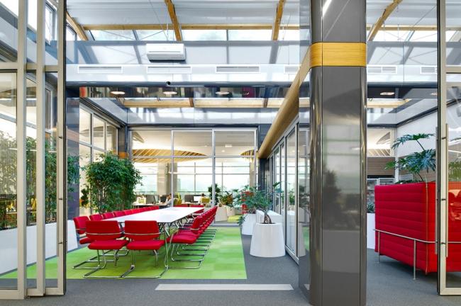 Студии дизайна Remeika Design с офисом компании «Литрада» победила в номинации «Организация пространства». Фотография предоставлена организатором.