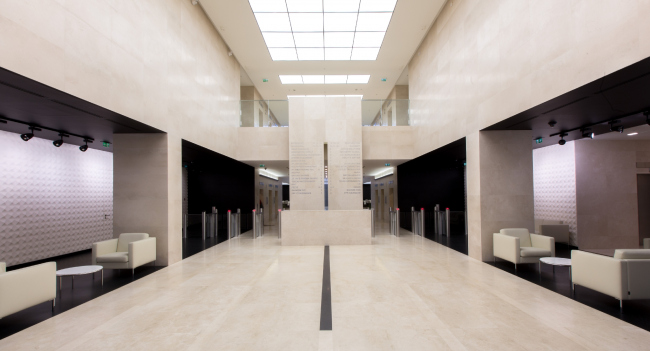 Архитектурное бюро Aedas и бизнес-центр «Лесная Плаза» выиграли награду «Атриум бизнес-центра». Фотография предоставлена организатором.