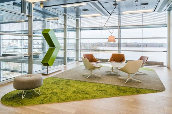 «Лучший зарубежный проект» – Valmet – сделан финским Архитектурным бюро Gullstén-Inkinen Design&Architecture. Фотография предоставлена организатором.