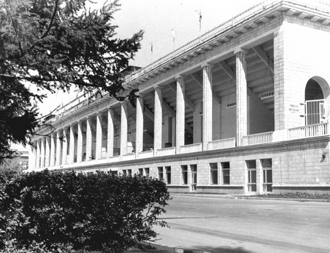 Историческая фотография бассейна «Лужники». Материалы предоставлены организаторами конкурса