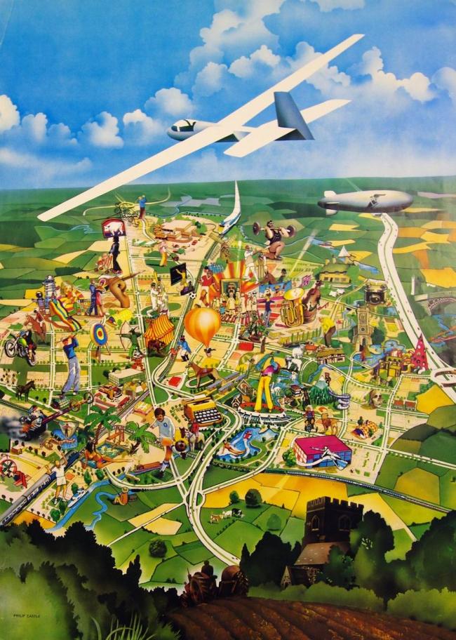 «Досуг в Милтон-Кинс», Филлип Касл, 1971 © Professor Derek Walker