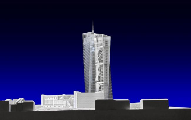 Европейский Центральный Банк. Проект - октябрь 2007 (c) Coop Himmelb(l)au