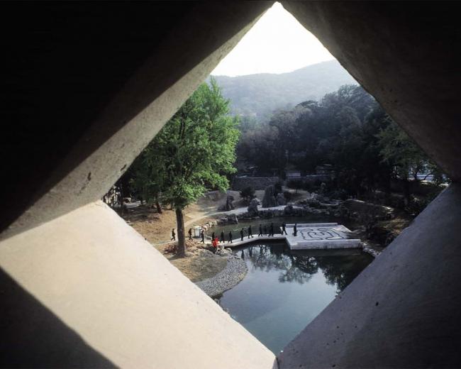 Отель Fragrant Hills в Пекине. 1982. Фото: Marc Riboud