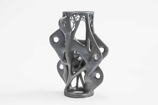 Стальная деталь, изготовленная с помощью аддитивной технологии. Изображение: arup.com