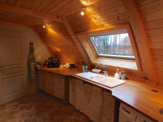 Вращающийся дом Domespace в Лионе. Мансардные окна Velux©www.domespace.ru