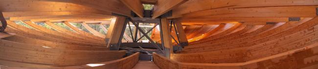 Вращающийся дом Domespace в Лионе. Конструкция©www.domespace.ru