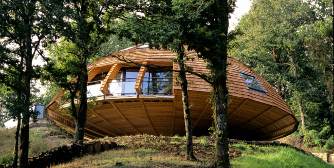 Вращающийся дом Domespace©www.domespace.ru