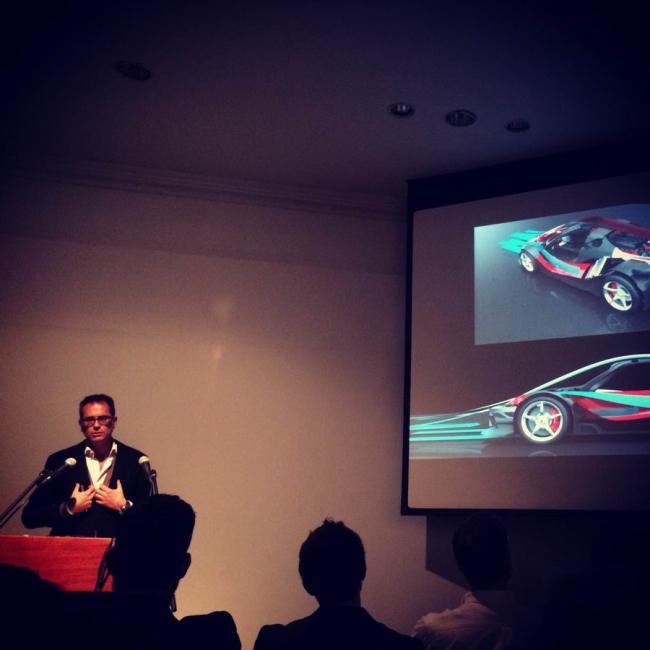Лекция Флавио Манцони (Ferrari) в AA. Фото: студенты AA. Предоставлено Дмитрием Аранчием