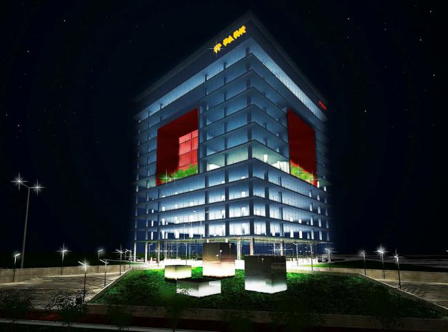 Победитель конкурса на разработку эскизного проекта Парка высоких технологий в Якутске. Проект ООО «Горпроект». Иллюстрация предоставлена организаторами