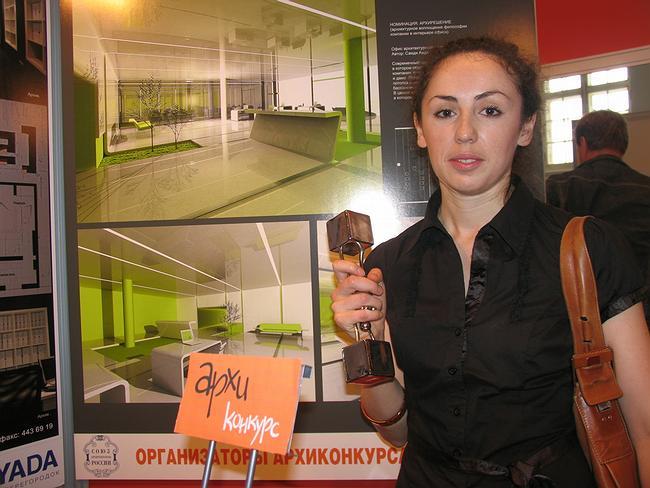 Первое место в номинации «Архирешение»: проект офиса архитектурного бюро - Аида Саида