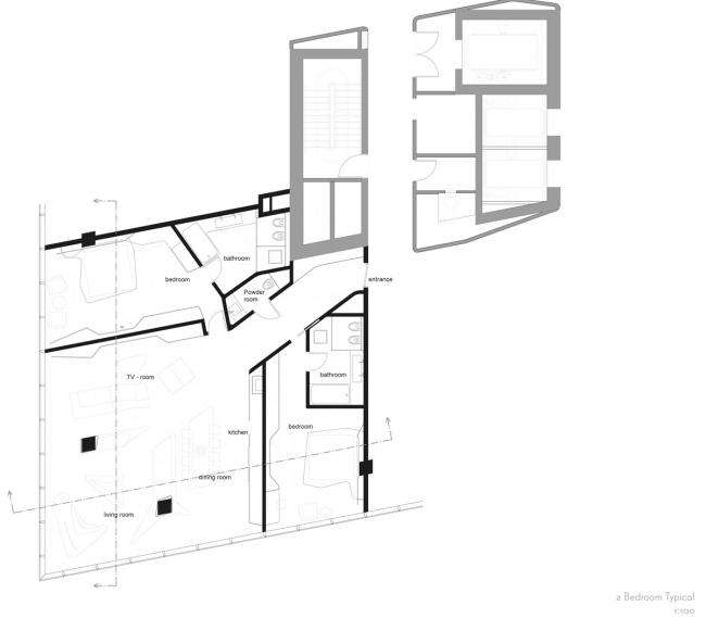 Комплекс Opus © Zaha Hadid Architects