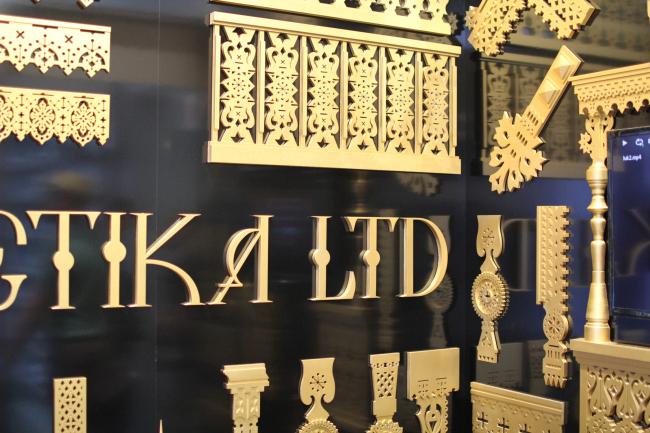 Стенд Estetika Ltd. Фотография Юлии Тарабариной