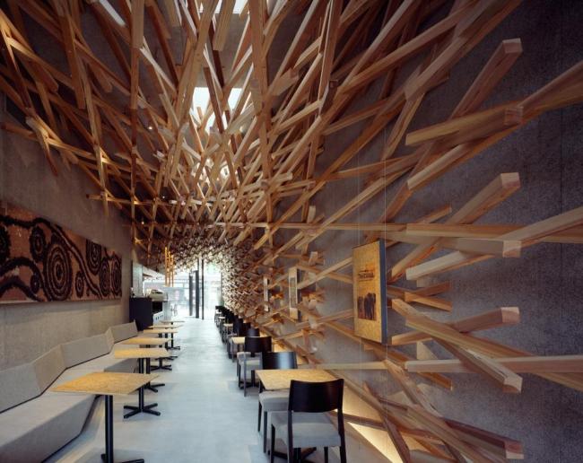 Кафе Starbucks в Дадзайфу © Masao Nishikawa