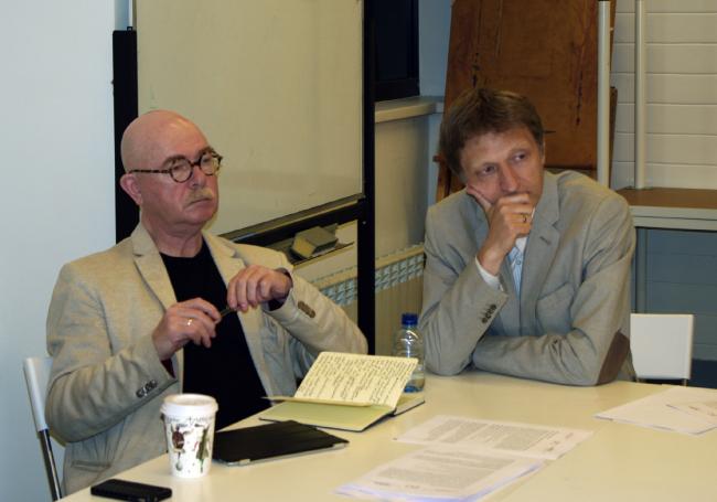 Евгений Асс и Никита Токарев. Фотография Аллы Павликовой