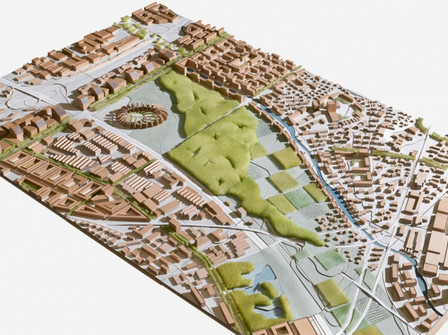 Проект аггломерации в районе Глатталь. Группа «Крокодил». Изображение с сайта poolarch.ch
