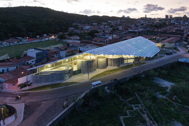 Спорткомплекс Arena do Morro © Iwan Baan