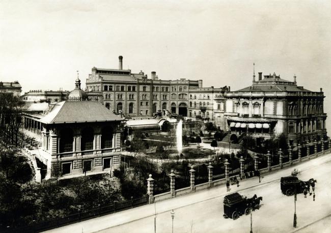 Пивоваренный завод Bötzow. Фото около 1900 года