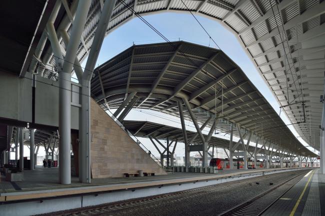 Вокзал «Олимпийский парк». «Студия 44». Фотография © Алексей Народицкий