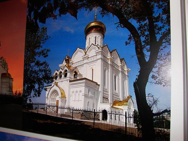 Церковь Елизаветы с Хабаровске - пример старательно сделанной эклектики начала XXI века