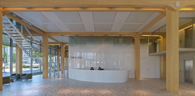 Штаб-квартира медиа-концерна Tamedia © Didier Boy de La Tour
