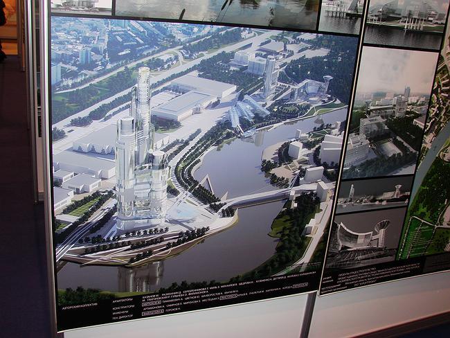 Проект Михаила Хазанова, который должен разместиться рядом с Административно-общественным центром Московской области