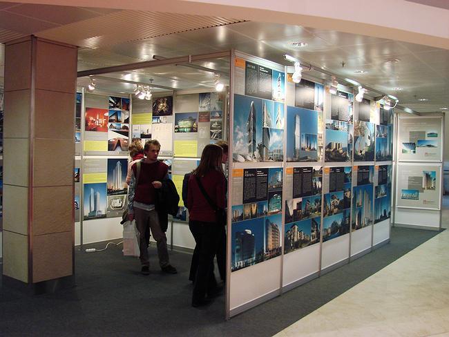Выставка современной архитектуры Китая