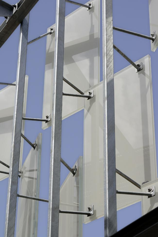 Здание FRAC Прованс – Альпы – Лазурный Берег © Nicolas Waltefaugle