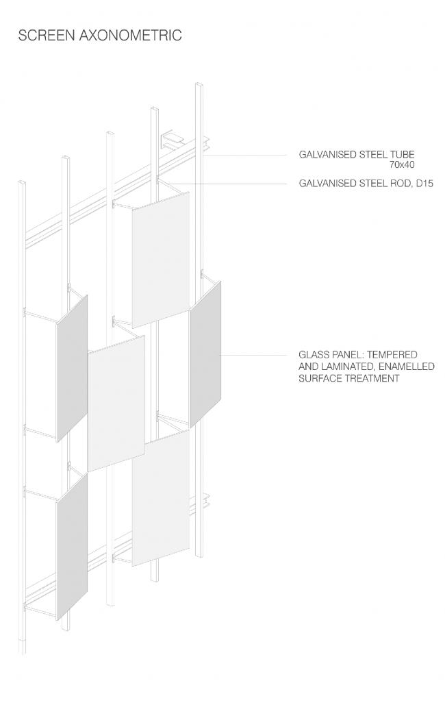 Здание FRAC Прованс – Альпы – Лазурный Берег © Kengo Kuma & Associates