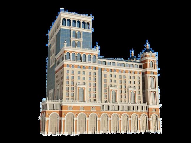 Проект гостиницы на Краноспрудной, 12, ООО «Антика-плюс». Изображение: archsovet.msk.ru