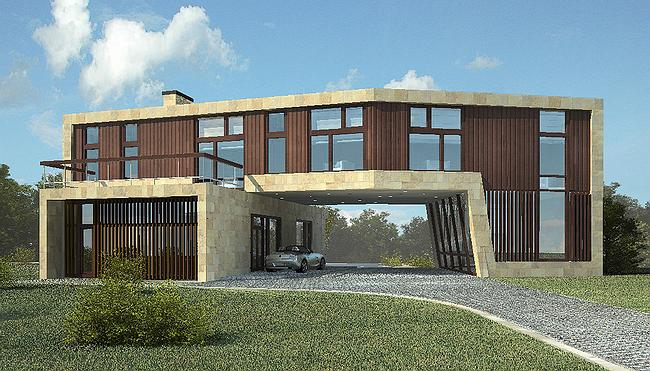 Индивидуальный жилой дом, Антоновка © PANACOM